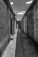 Corridor Alley Between Cellblocks