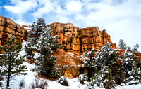 Red Canyon Winter